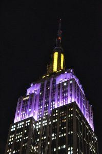 Empire State Building Honors WKC