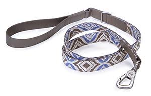 85015 Fashion 4' Dog Lead, Blue Emblem