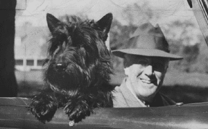 FDR and Scottish Terrier, Fala.