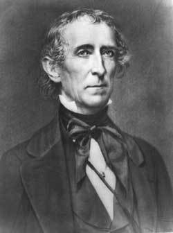 President John Tyler had 3 dogs while in office.