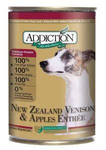 addiction-new-zealand-venison-apples-canned-dog-food