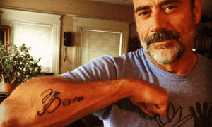 jeffrey dean morgan's tattoo