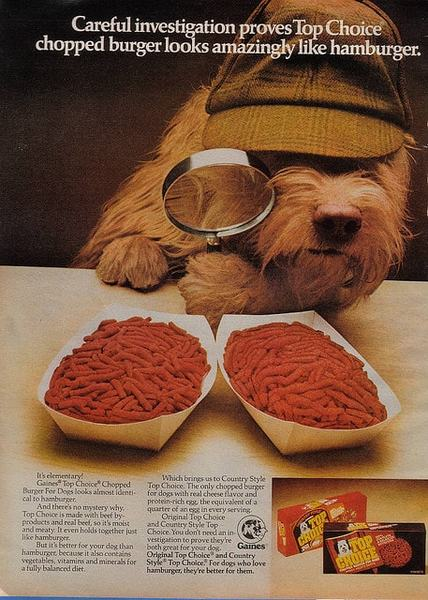 Food For Thought 28 Fascinating Vintage Dog Food Ads