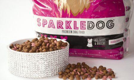 pink dog food